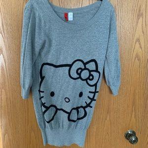 H&M Hello Kitty sweater dress